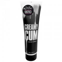 Lubrifiant à base d'eau Jacquie & Michel - Cream cum 150ml - Vibromasseur haut de gamme
